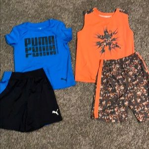 2 sets of boys shorts 4T
